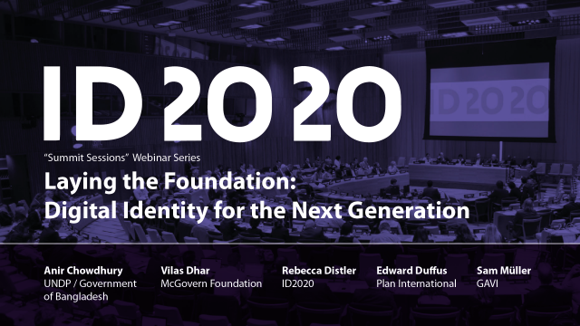 2020 Summit Sessions Laying the Foundation Intro Card