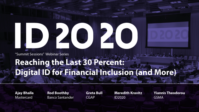 2020 Summit Sessions Reaching the Last 30 Percent Intro Card